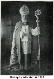 Bishop Leadbeater år 1923