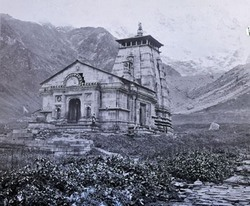 Kedernath Temple år 1882