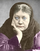 H. P. Blavatsky i London, 1889